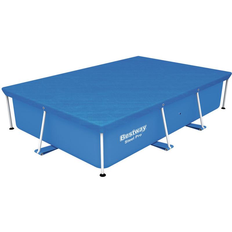 Cobertor piscina rectangular para piscina 259x170 cm 148624 for Cobertor piscina carrefour