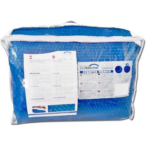 Cobertor térmico 500 Micras ECO para piscina de 8 x 4 metros