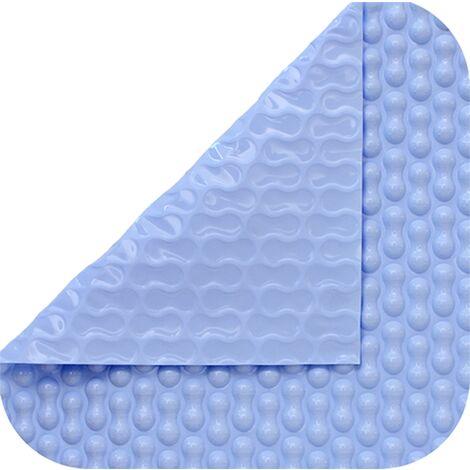 Cobertor térmico de 500 micras Cool Guard para enfriar su piscina de 12 x 5m.