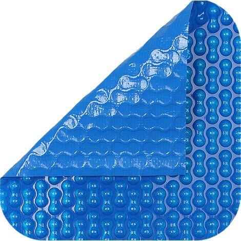 Cobertor térmico de 700 micras reforzada con polietileno. Nos ajustamos a las medidas de su piscina.