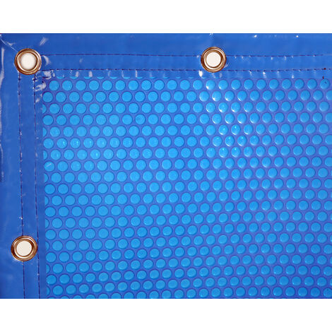 Cobertor Térmico para piscinas de 4m de ancho con refuerzo en los anchos.