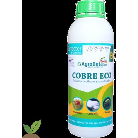COBRE ECOLOGICO 1 L. CORRECTOR AGROBETA