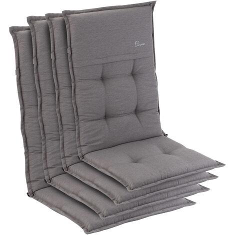 Coburg, Upholstery, Armchair Cushion, High-Back Garden Chair, Polyester, 53x117x9cm