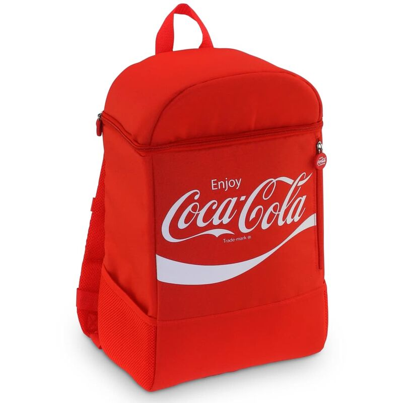 Image of Bag Classic Backpack 20 20 L - Red - Coca-cola
