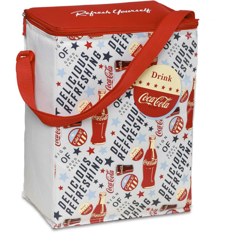 Image of Insulated Bag Fresh 15 15 L - Red - Coca-cola