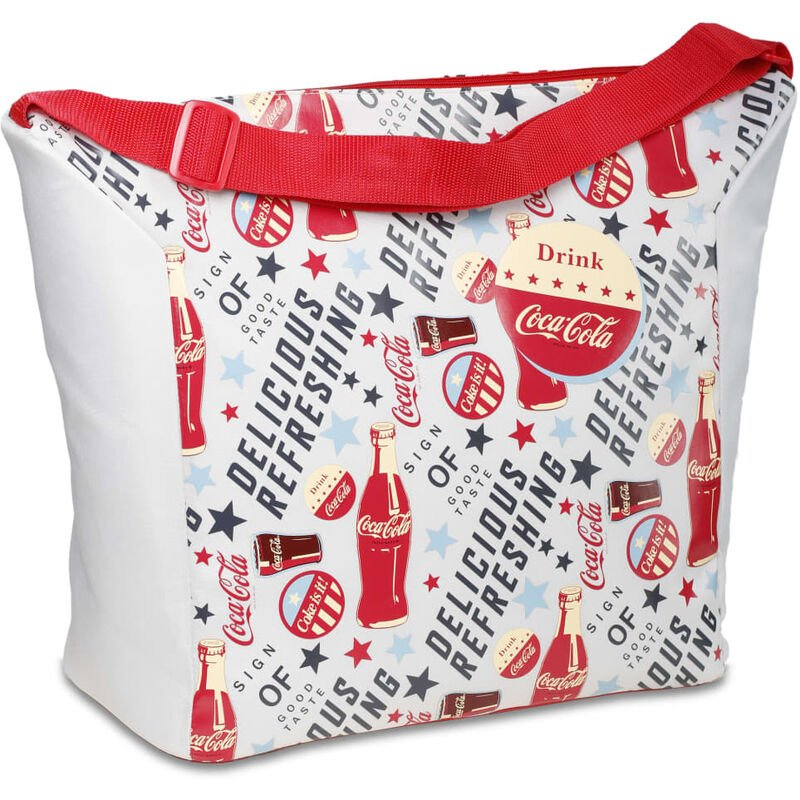 Image of Insulated Bag Fresh 20 20 L - Red - Coca-cola