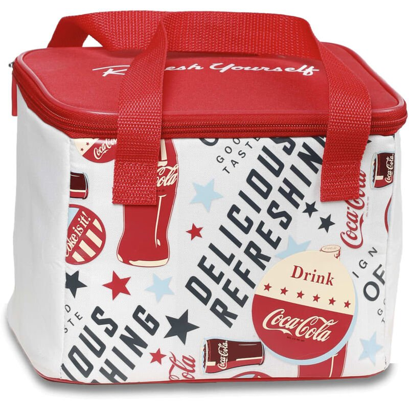 Image of Insulated Bag Fresh 5 5 L - Red - Coca-cola