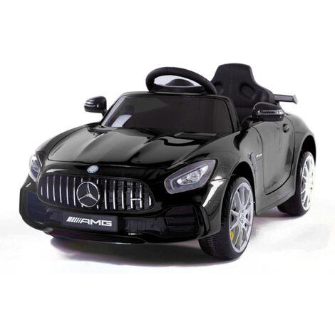 Coche eléctrico- Mercedes GTR rojo con radio control