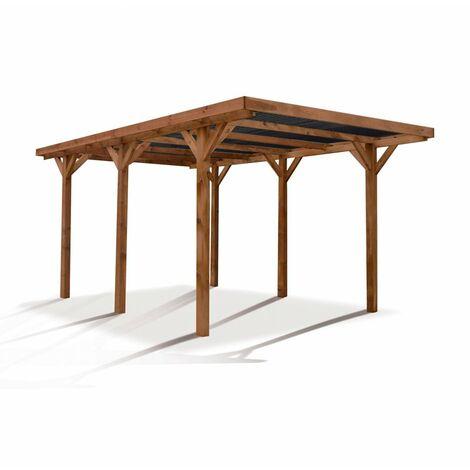 Cochera tejado policarbonato Enzo Forest