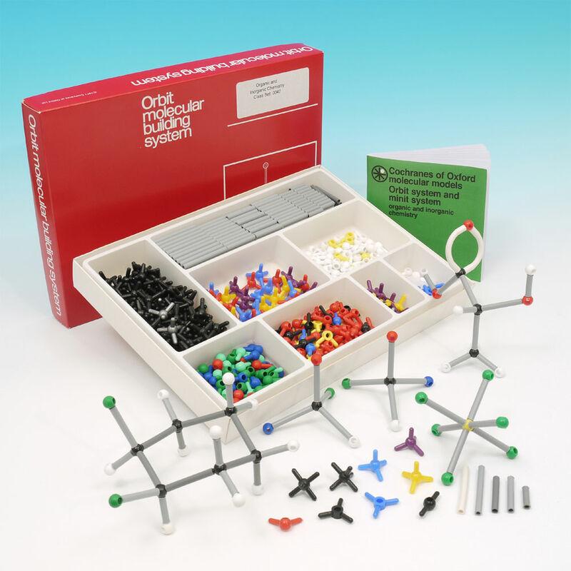 Image of Cochranes - Molecular Chemistry Set - Minit Organic and Inorganic - 500 Atoms