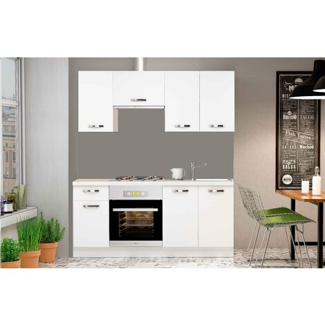 Cocina completa Blanca kit London