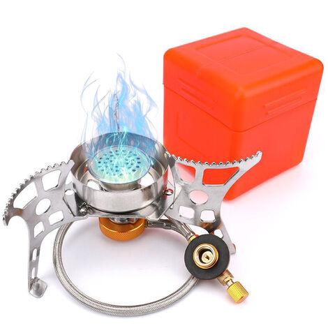Cocina de gas portatil de Split horno de gas al aire libre estufa que acampa de encendido piezoelectrico Estufa / Manual Estufa de encendido, Manual Estufa de encendido