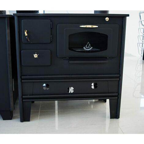 Cocina de leña de Prometey 7 kW con horno