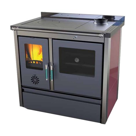 Cocina de leña Lotus sin electricidad 24+6KW