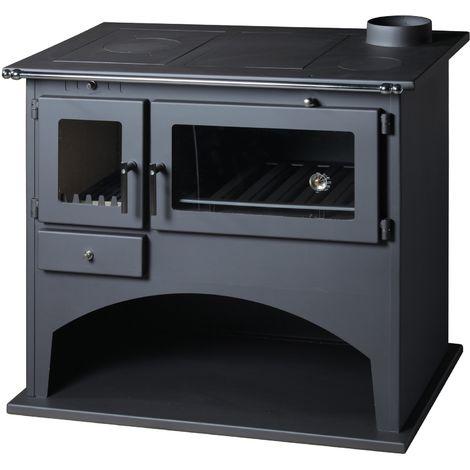 Cocina de leña VIKI 10,5kW - 12,5kW