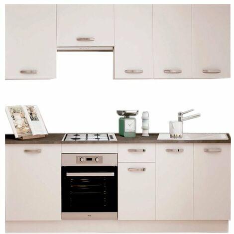 Cocina en kit Meka blanco 240cm