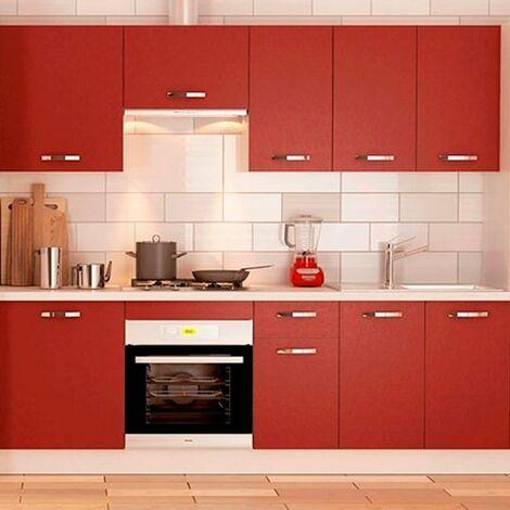 """main image of """"Cocina en kit Meka burdeos 240cm"""""""