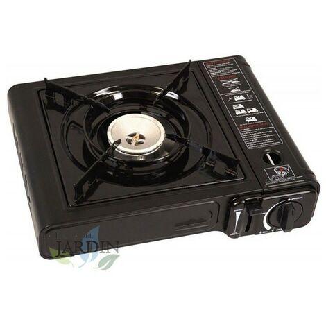 Cocina gas portátil 1 fuego 34x28 cm