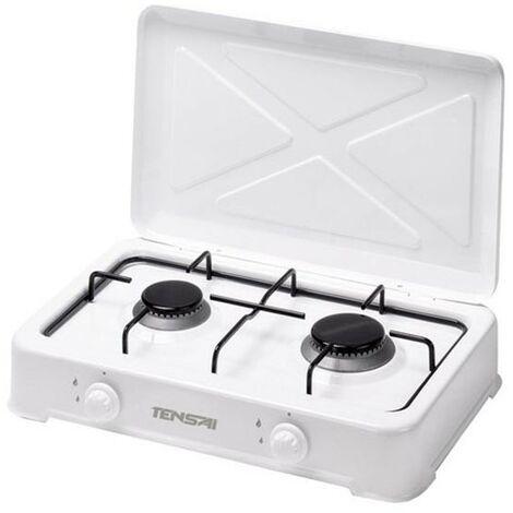 Cocina gas sobremesa 2 fuegos