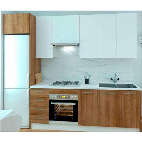 Cocina Kit-Chef Premium 285cm blan/robl