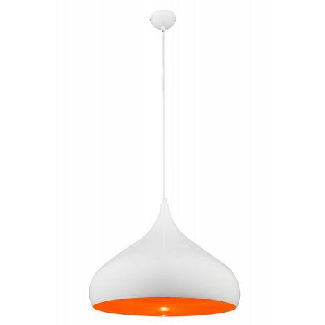 Cocina moderna lámpara de suspensión que viven naranja blanco Globo 15204