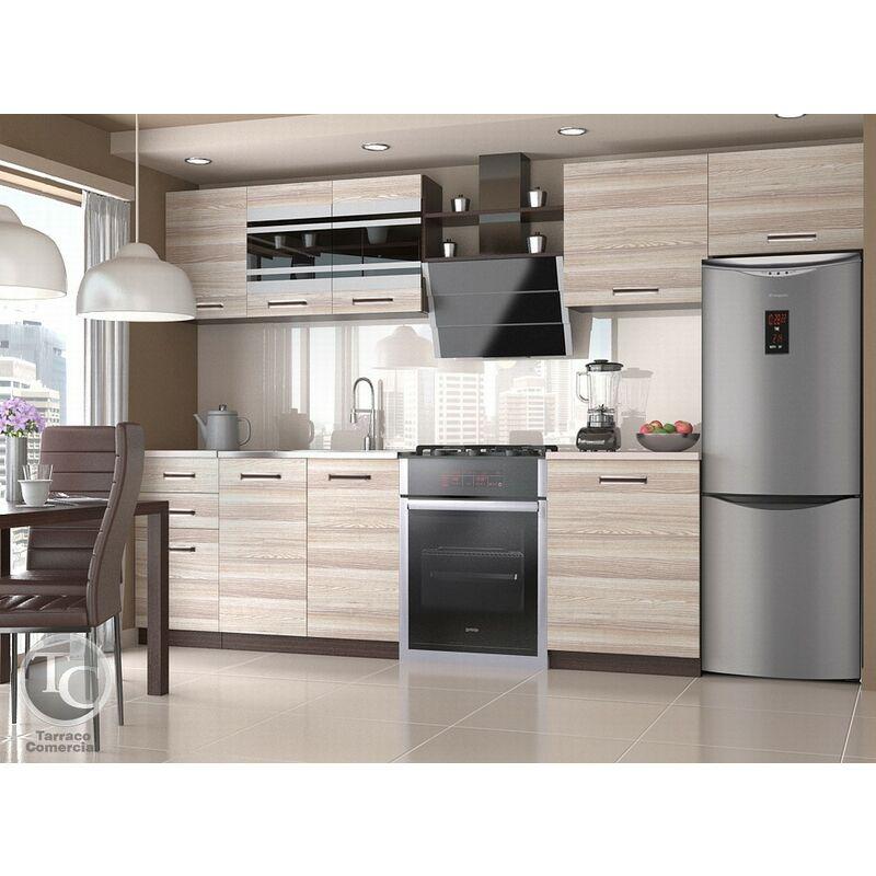 Cocina Modular - Ella 300 Cm Acacia