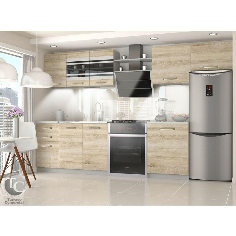 Cocina Modular - Ella 300 Cm Sonoma