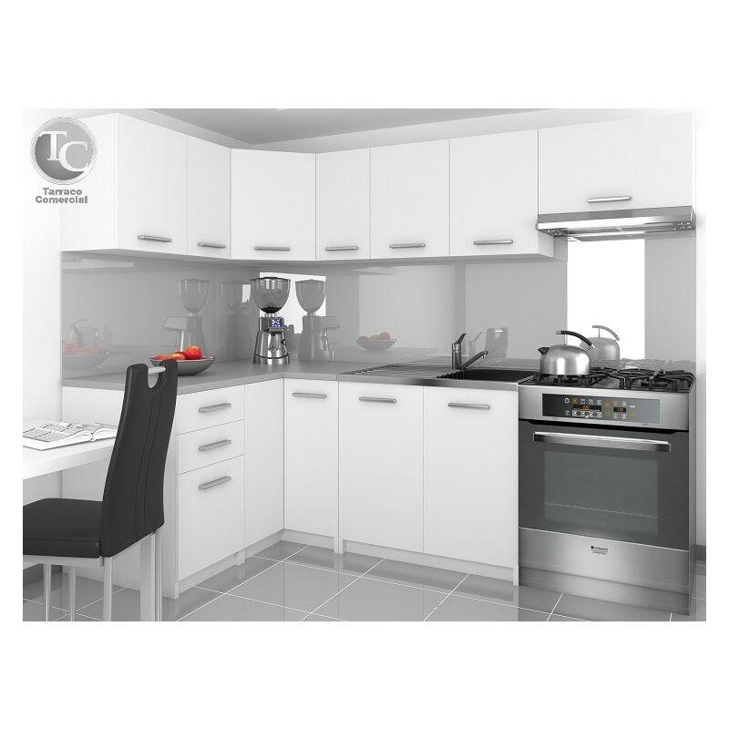 Cocina Modular - Lidia 360 Cm Blanco