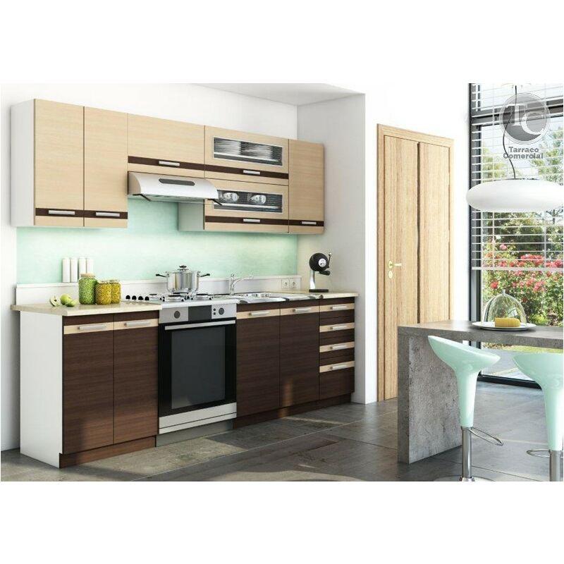 Cocina modular - LUNGO 240 CM MACHATTO