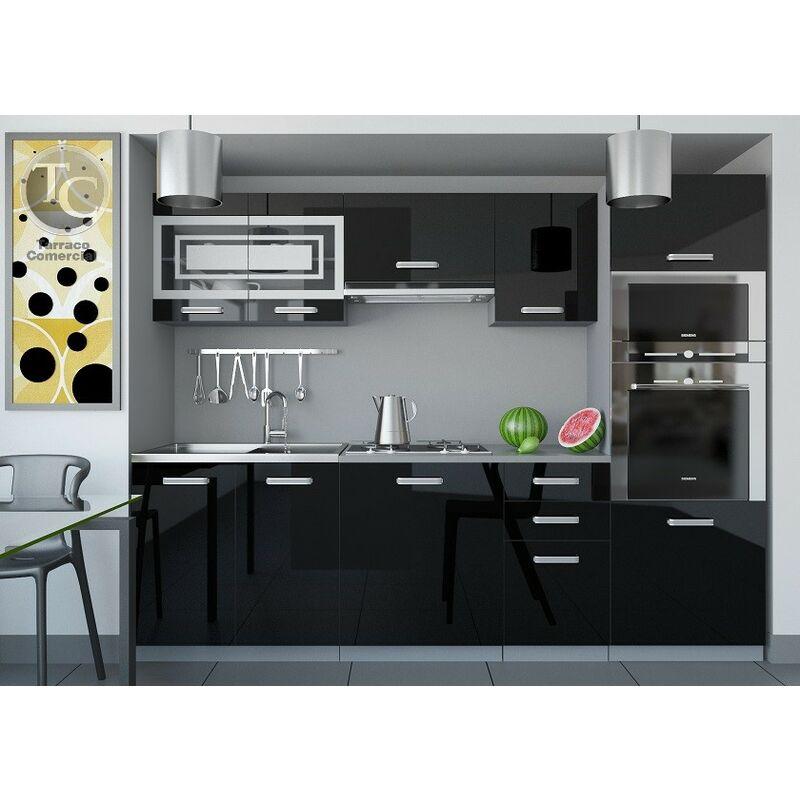 Cocina - Paula 240 Brillo Negro