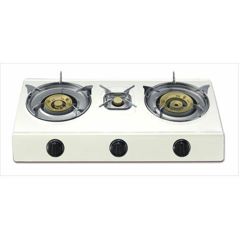 Cocina Portatil 700x370x80cm 4,3/3,4/0,75 Kw A Gas Vivah 3 F