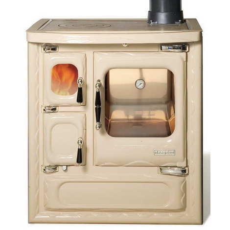 Rejilla de una cocina de leña