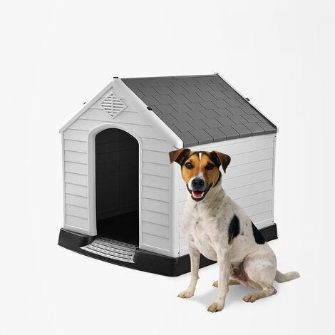 COCO Niche pour petits chiens en plastique extérieur