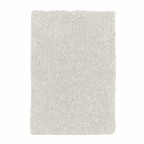 COCOON - <p>Tapis à poils longs extra-doux écru 60x90</p> - Blanc