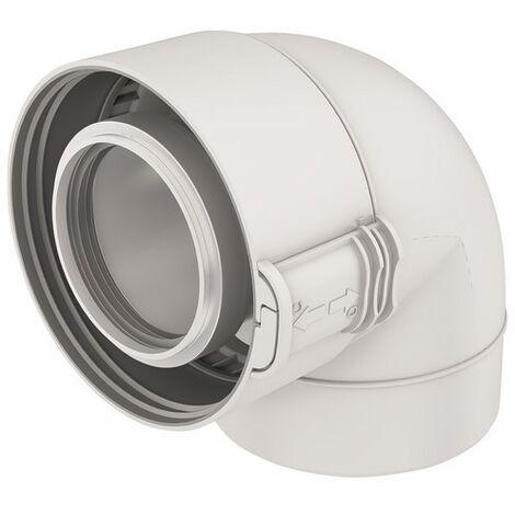 Codo 87° PPTL/PVC blanco UBBINK 227520 - UBBINK : 229520