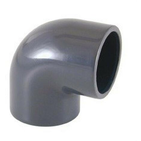 "main image of ""Codo 90° encolar PVC diámetro 75 Cepex"""