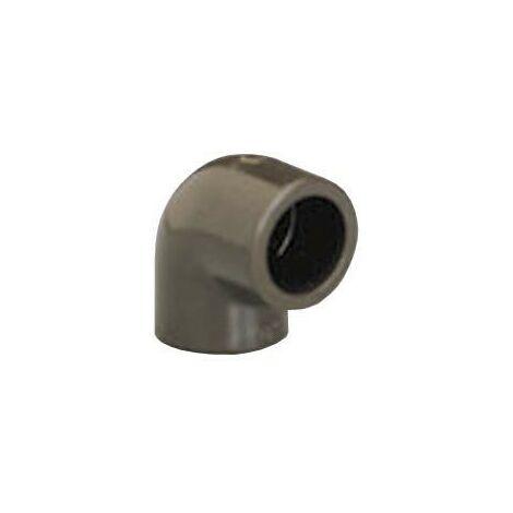 Codo 90° PVC HTA -calor- hembra/hembra D.25