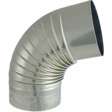 Codo de aluminio 72°, diámetro 167mm
