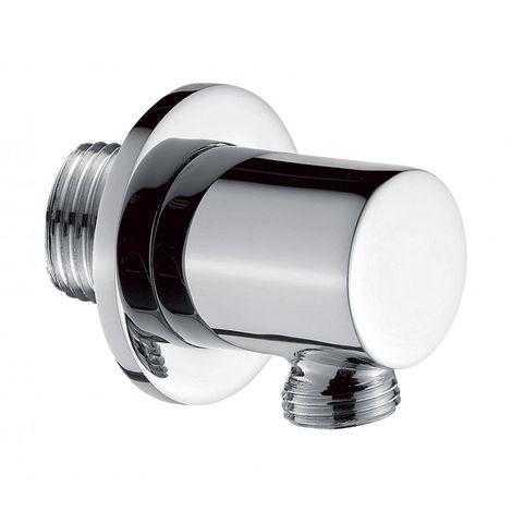 Codo de pared para flexo de ducha de alta calidad BA008 - diseño redondeado