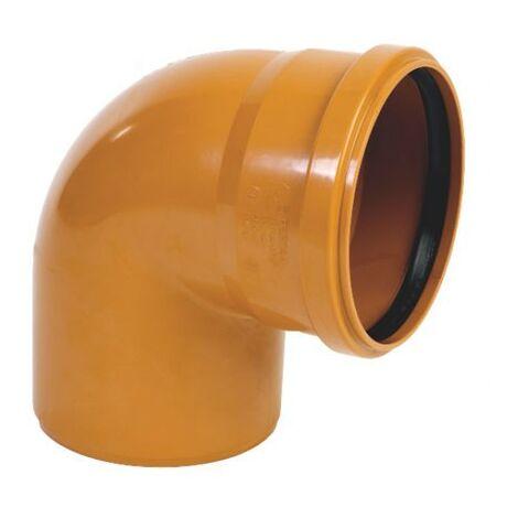 Codo de PVC M-H 87º - CREARPLAST - Medidas: 315X87 mm.