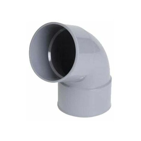 Codo de PVC NICOLL - 67°30 - Diámetro 40 - Hembra-hembra - para encolar - 57382X