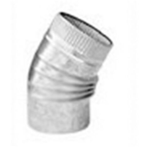 Codo Estufa Galvanizado 45º - EXOJO - CG10045 - 100 MM