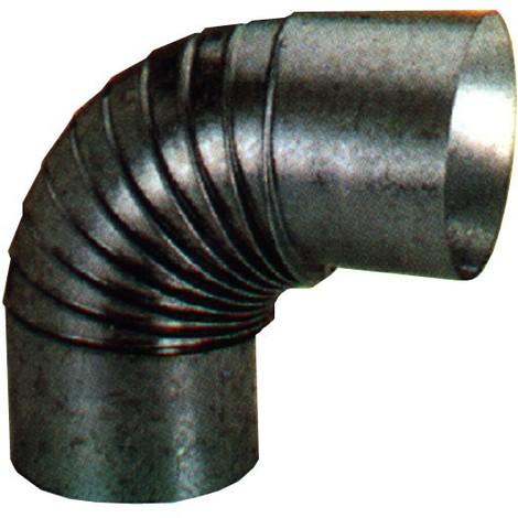 Codo Estufa Galvanizado 90º - EXOJO - 851300 - 130 MM