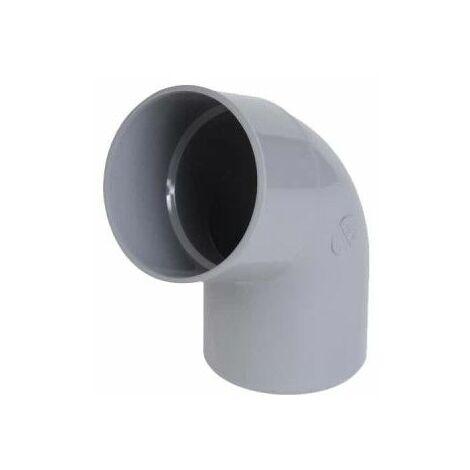 Codo NICOLL de PVC - 67°30 - Diámetro 50 - Macho - hembra - caudal - 57009R