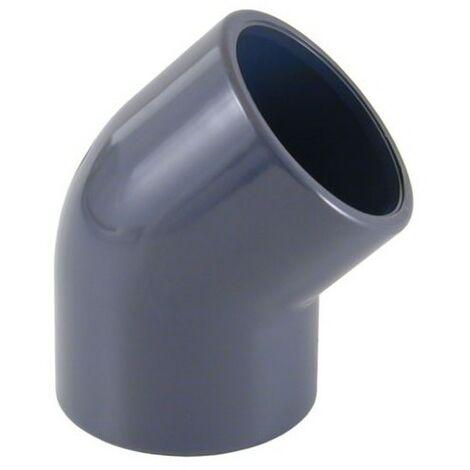 """main image of """"Codo PVC 75mm 45º encolar Cepex"""""""