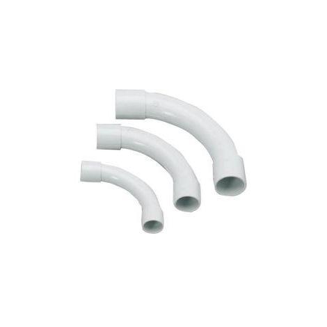 Codo PVC EN 20 mm, 1 Pack/3 unidades SB