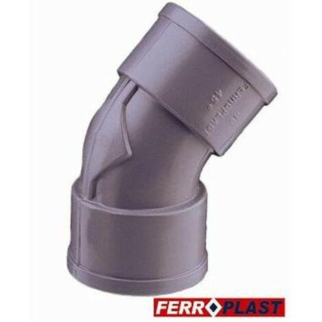 CODO PVC GRIS HM.-HM. 45º 32 MM. 205272