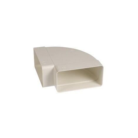 Codo recto vertical 110x56-90g-108