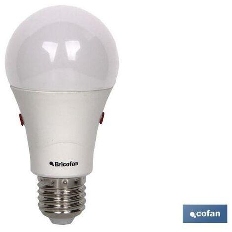 PLIMPO bombilla clasic sensor luz e27 9.5w 806lm 4000k