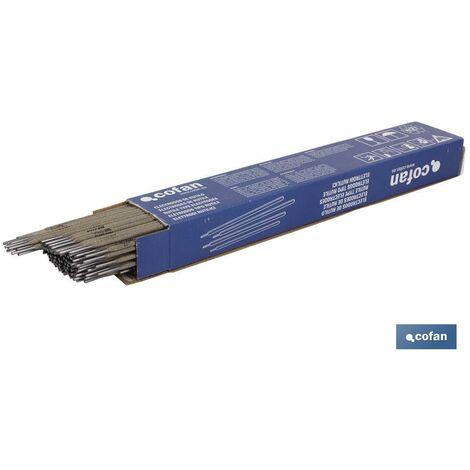 ELECTRODOS DE RUTILO E-6013 Ø3.25MM 95 UDS venta unitaria